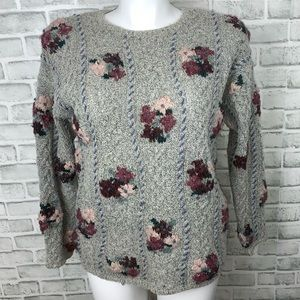 VINTAGE EXPRESS TRICOT GRANNY SWEATER